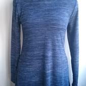 Тонкое, теплое платье-туника New look машинной вязки, евро размер 40-12, наш 46 в отличном состоянии