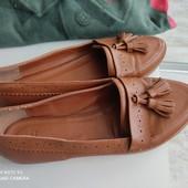 Туфли , лоферы ASOS женские натуральная кожа
