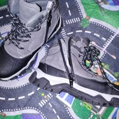Крутые! Новые деми ботинки хайтопы TU, стелька 20.5-21см!