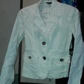 пиджак белый, размер42-44