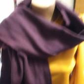 Шарф фиолетового цвета из кашемира