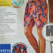 Обалденные фирменные шорты для пляжа и купания от Crivit Новые