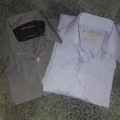рубашки мужские 2шт