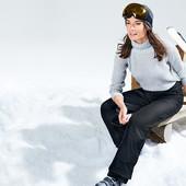 Водонепроницаемые, ветрозащитные и дышащие лыжные брюки от Tchibo, размер евро 34, наш 40