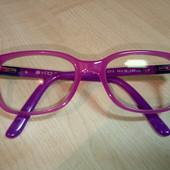 Детские очки для зрения и две оправы,одним лотом.