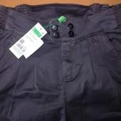 Капри Benetton для школьниц на рост 128-134