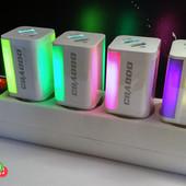 USB-Зарядное устройство с подсветкой 2.1А +qualcomm quick charge 3.0 usb-a евровилка