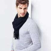 Качественный тканый шарф Tchibo Германия, размер универсальный