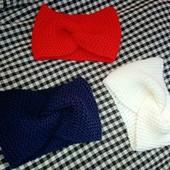 Модные повязки дела ваших принцесс!!!Темно-синя и красная
