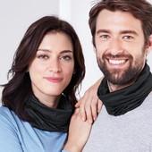 Многофункциональный шарф-снуд 7 вариантов ношения Tchibo Германия, размер универсальный
