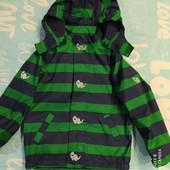 Яркая и практичная куртка Softshell, ecorepel от Tchibo. Состояние новой.