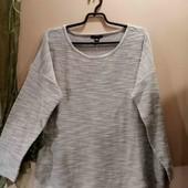 Esmara комбинированная блуза свитшот XXL 52-54
