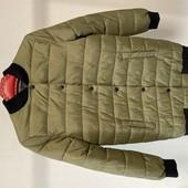 Куртка бомбер хаки