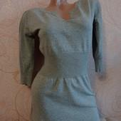 В идеале! Очень стильное качественное деми платье, туника
