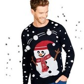 Отличный праздничный свитер Livergy Германия размер L (52/54)