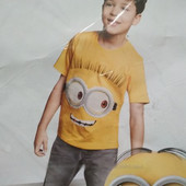 Яркая фирменная хлопковая футболка Новая