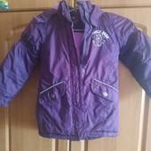 Куртка - парка на девочку в идеальном состоянии