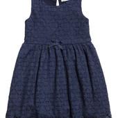 H@M нарядное ажурное платье ( сарафан)рост 98/104(2-4 года)