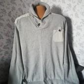 Мужской свитер, тонкой вязки, размер 62
