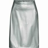 esmara.стильная юбка под кожу. S36/38замеры