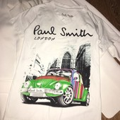 Шикарная брендовая футболка Paul Smith
