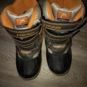Детские термо ботинки на мальчика