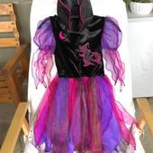 Платье ведьмочки на Хеллоуин