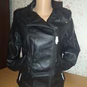 Обалденные куртки косухи эко кожа, кожзам, качество! Батал! Р. 48-58, Маломерят!!!