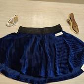 Name it!!! Нарядная велюровая юбка для девочки! 98 рост!