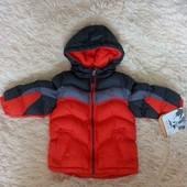 Курточка на мальчика состояние 5+ теплая