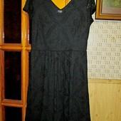 Качество! Ажурное платье от George, в новом состоянии