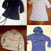 За блиц 4шт.! 38-40р. туника, рубашка, блузка - в лоте 1 на выбор