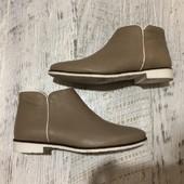 Ботинки із натуральної шкіри,від Andre, розмір 37, (натуральная кожа)