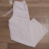 Жіночі штани, 100%льон, 44 розмір