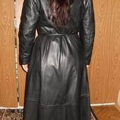 Кожанное пальто Турция р М