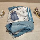 Германия!!! Стильная джинсовая курточка для девочки! 12-13 лет, 158 рост, маломерит! Можно на Хс!