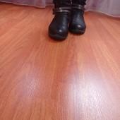 Комфортные женские сапожки размер 39, ст.26 см