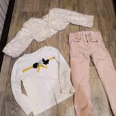Лот для маленькой модницы, 3 качественные вещи