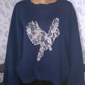 Женский свитер. Размер 56
