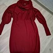 Фирменное платье! тёплое/Navy /M!!!