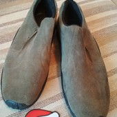 Шикарные замшевые туфли 30 см