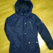 Очень теплая зимняя куртка на девочку с климат контролем, Staccato.
