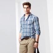 ❧Высококачественная рубашка из чистого хлопка, от тсм Tchibo (чибо), Германия, XL