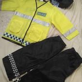 Костюм полицейского (2пары брюк)