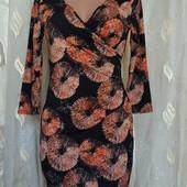 Новое трикотажное платье размер на выбор