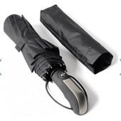 Зонт чоловічий автоматичний черний Primo (u1)