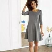 esmara.стильное платье из плотного трикотажа XS32/34+6