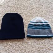Демісезонні нові шапочки, в лоті 2 шт