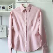 Нежно розовая плотная рубашка от Pink❤️