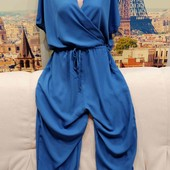Новый комбинезон цвета голубой дымки, размер XL.